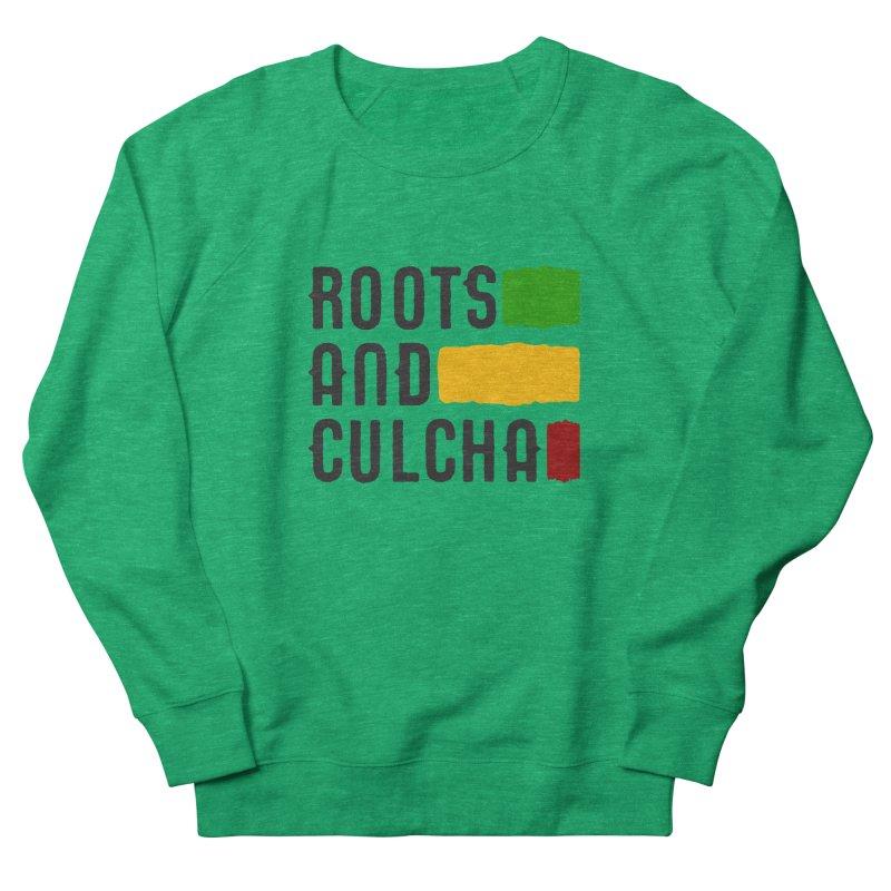 Roots and Culcha (Dark) Men's Sweatshirt by Rasta University Shop