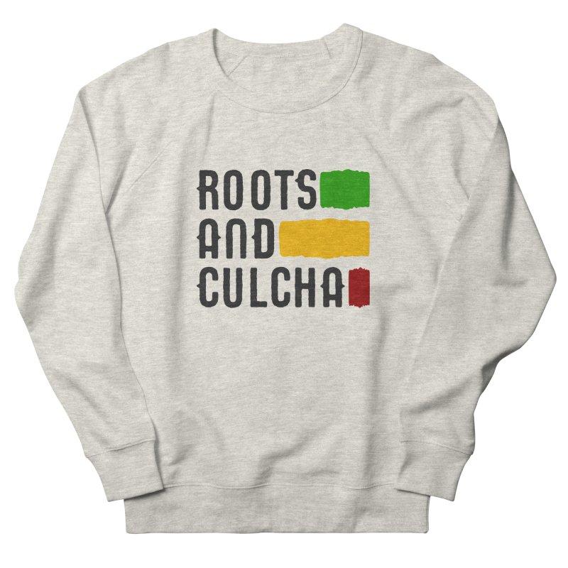 Roots and Culcha (Dark) Men's French Terry Sweatshirt by Rasta University Shop