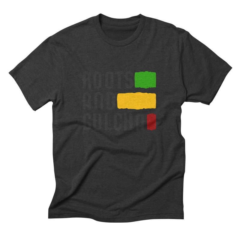 Roots and Culcha (Dark) Men's Triblend T-Shirt by Rasta University Shop