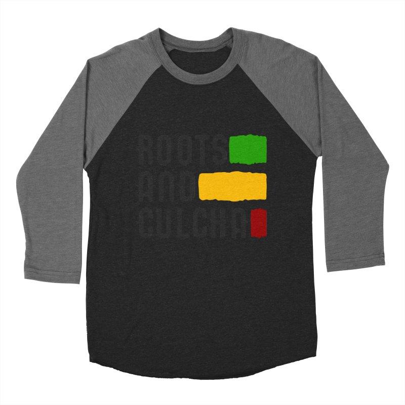 Roots and Culcha (Dark) Men's Baseball Triblend T-Shirt by Rasta University Shop