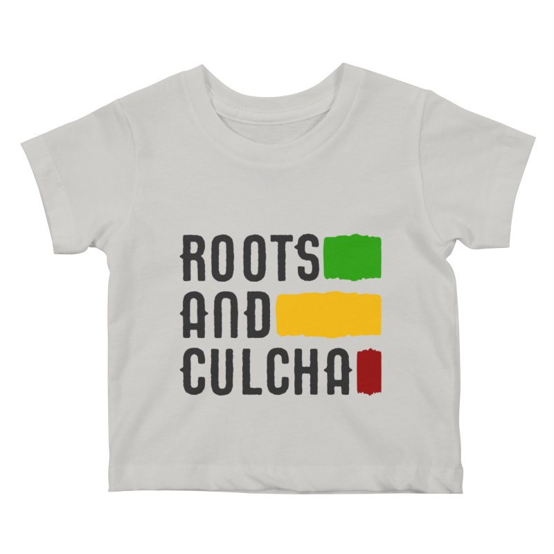 Roots and Culcha (Dark) Kids Baby T-Shirt by Rasta University Shop