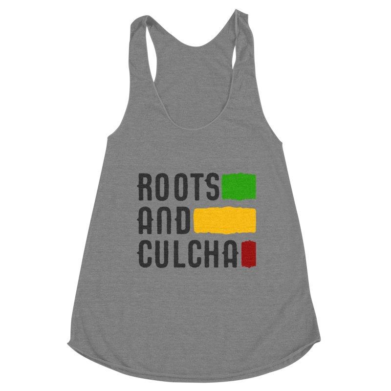 Roots and Culcha (Dark) Women's Tank by Rasta University Shop