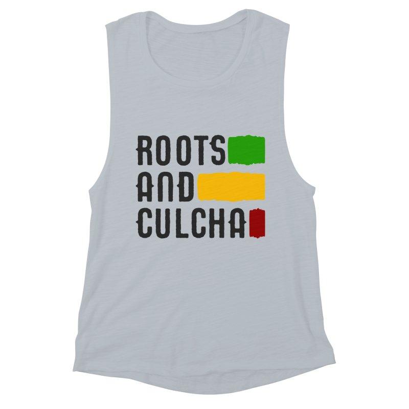 Roots and Culcha (Dark) Women's Muscle Tank by Rasta University Shop