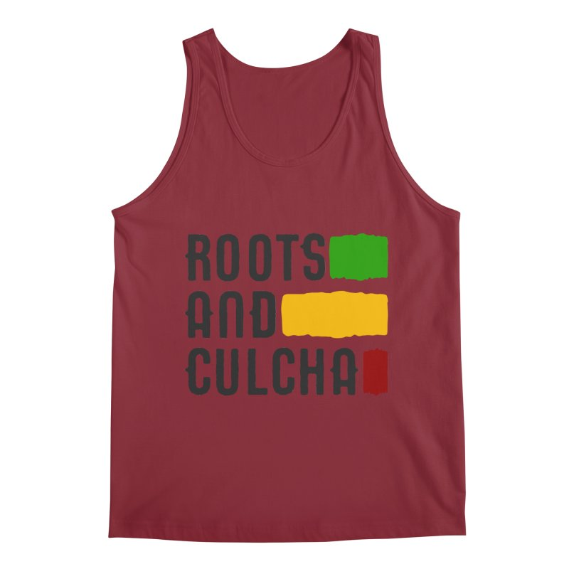 Roots and Culcha (Dark) Men's Regular Tank by Rasta University Shop