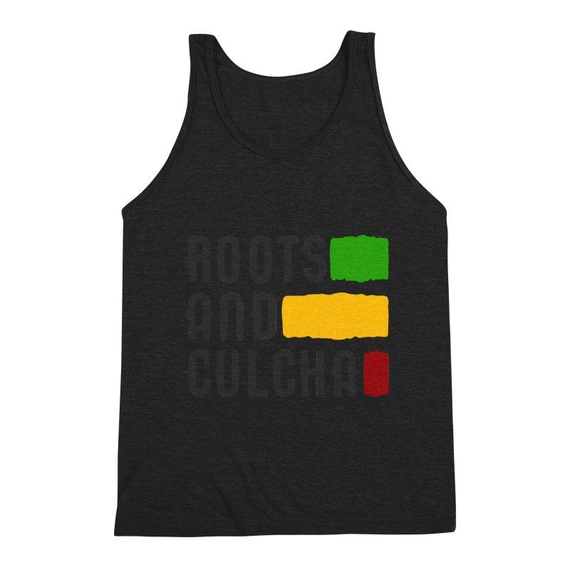 Roots and Culcha (Dark) Men's Tank by Rasta University Shop