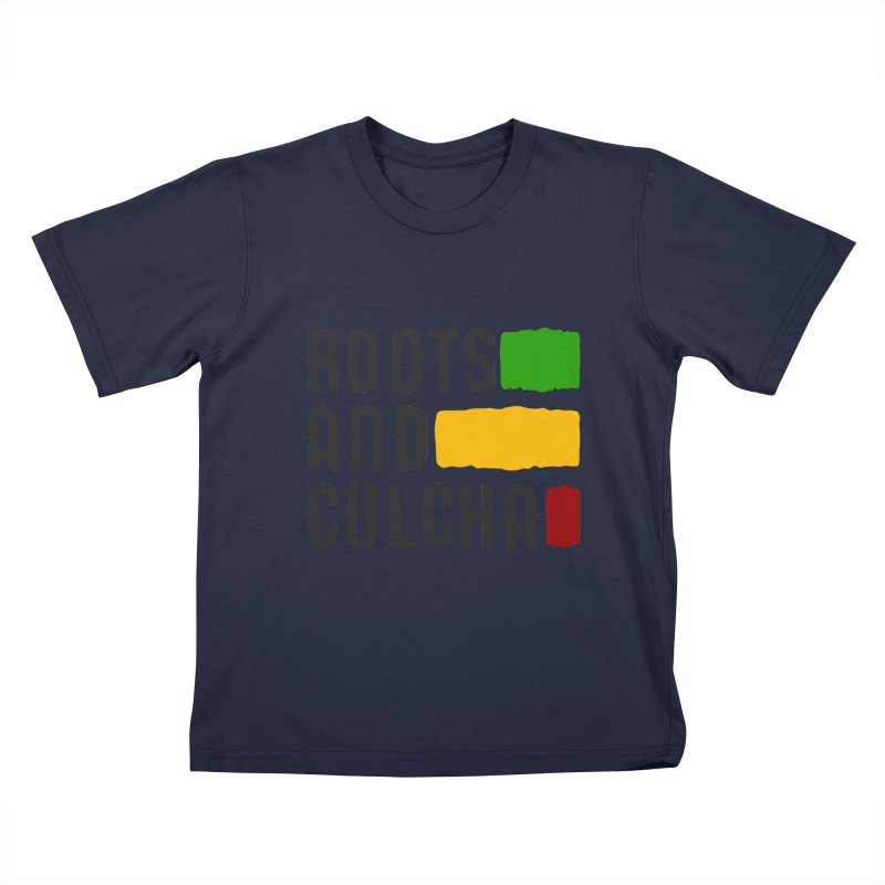 Roots and Culcha (Dark) Kids T-Shirt by Rasta University Shop