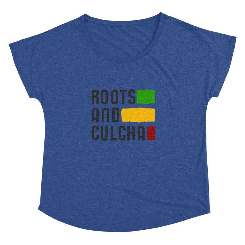 Roots and Culcha (Dark) Women's Dolman by Rasta University Shop