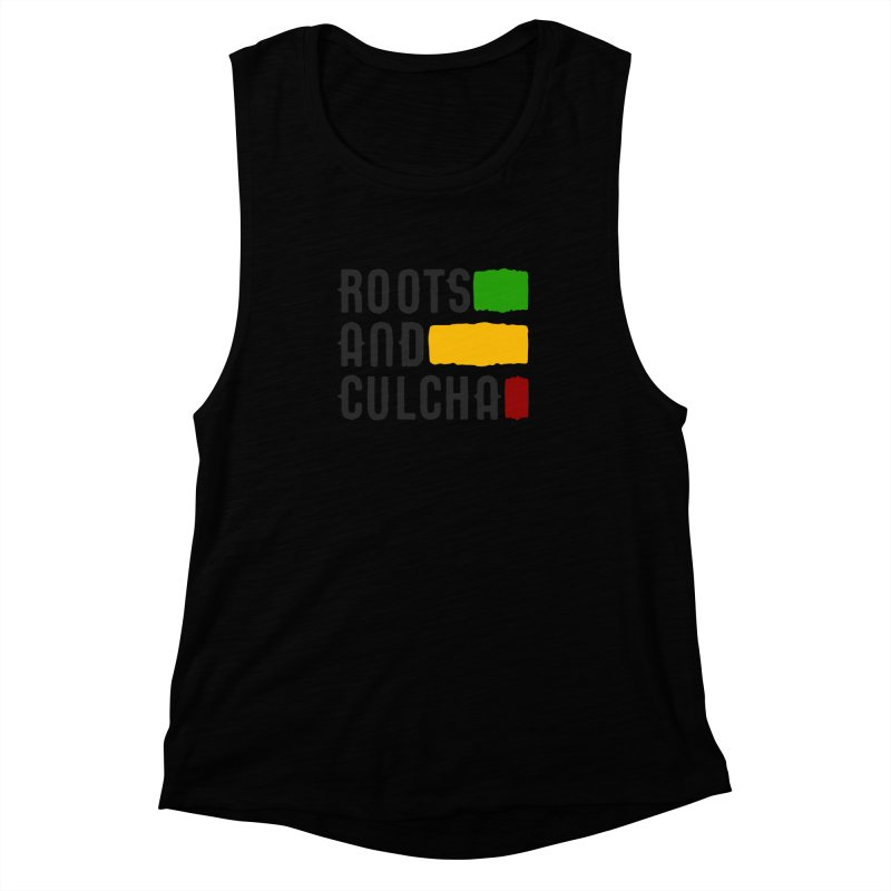 Roots and Culcha (Dark) Women's Muscle Tank by Rasta University Shop