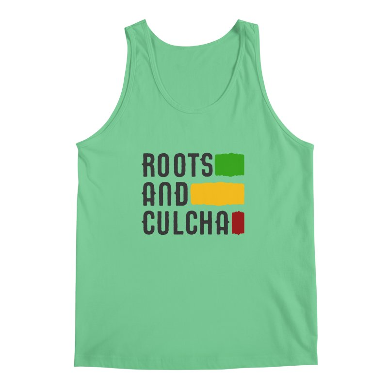 Roots and Culcha (Dark) Men's Tank by Rasta University Shop