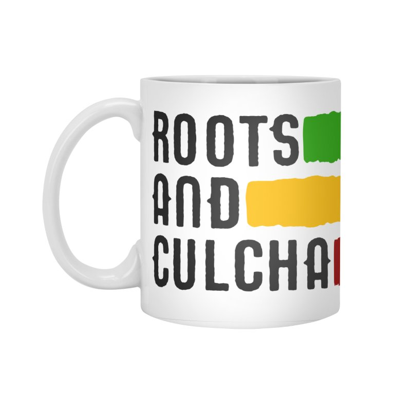 Roots and Culcha (Dark) Accessories Standard Mug by Rasta University Shop