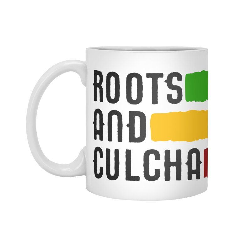 Roots and Culcha (Dark) Accessories Mug by Rasta University Shop