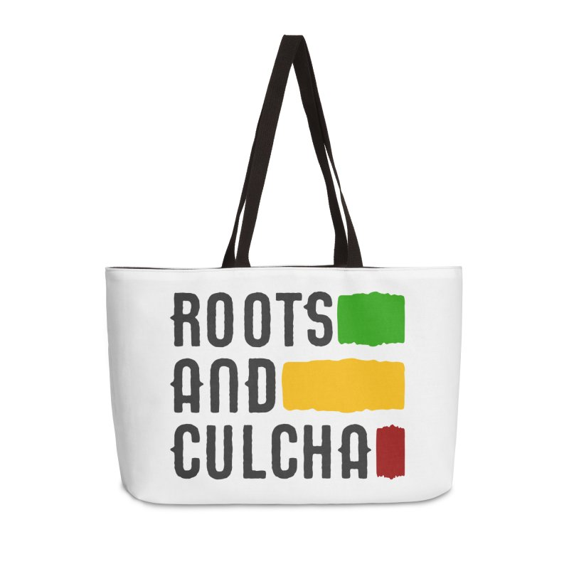 Roots and Culcha (Dark) Accessories Weekender Bag Bag by Rasta University Shop
