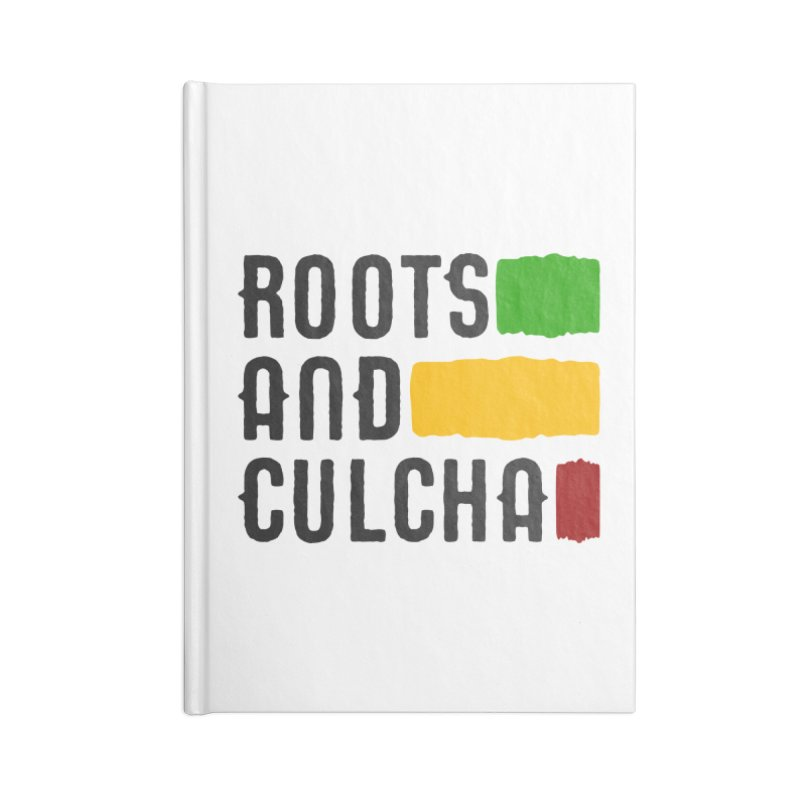 Roots and Culcha (Dark) Accessories Notebook by Rasta University Shop