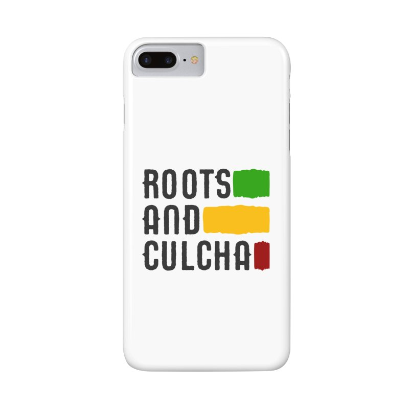 Roots and Culcha (Dark) Accessories Phone Case by Rasta University Shop