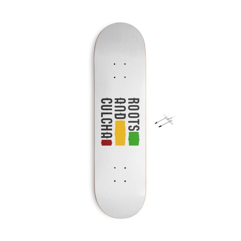 Roots and Culcha (Dark) Accessories Skateboard by Rasta University Shop