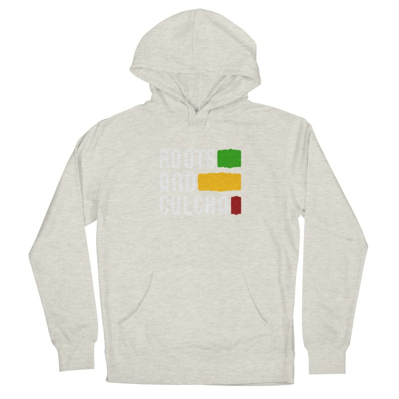 Roots and Culcha (Light) Women's French Terry Pullover Hoody by Rasta University Shop