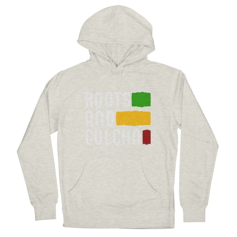 Roots and Culcha (Light) Men's French Terry Pullover Hoody by Rasta University Shop
