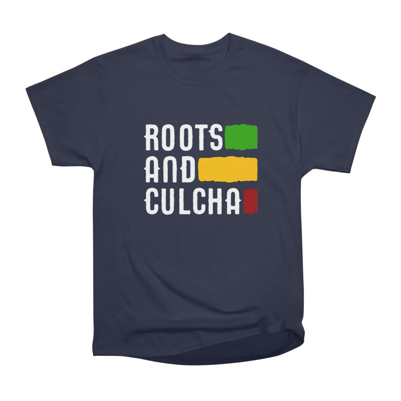 Roots and Culcha (Light) Men's T-Shirt by Rasta University Shop