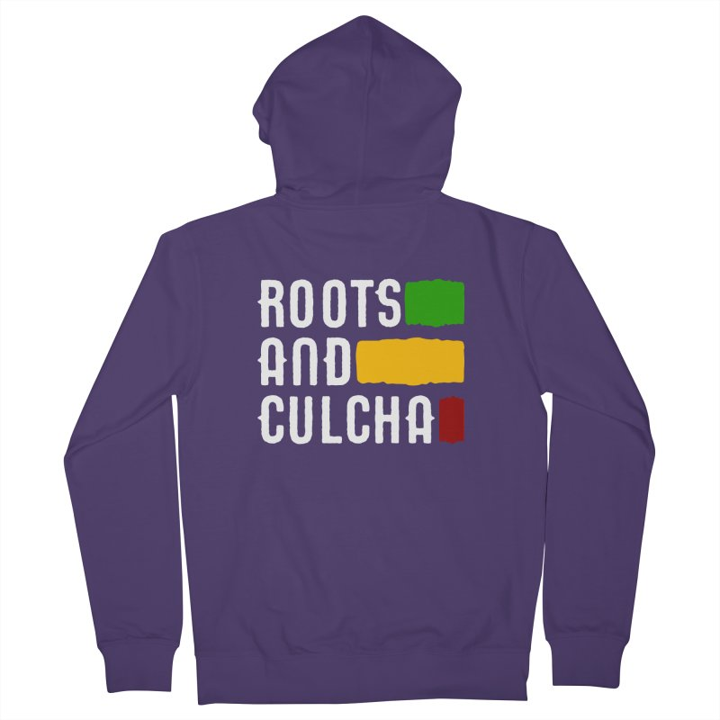 Roots and Culcha (Light) Women's French Terry Zip-Up Hoody by Rasta University Shop