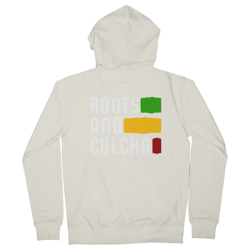 Roots and Culcha (Light) Women's Zip-Up Hoody by Rasta University Shop