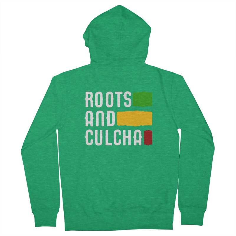 Roots and Culcha (Light) Men's Zip-Up Hoody by Rasta University Shop