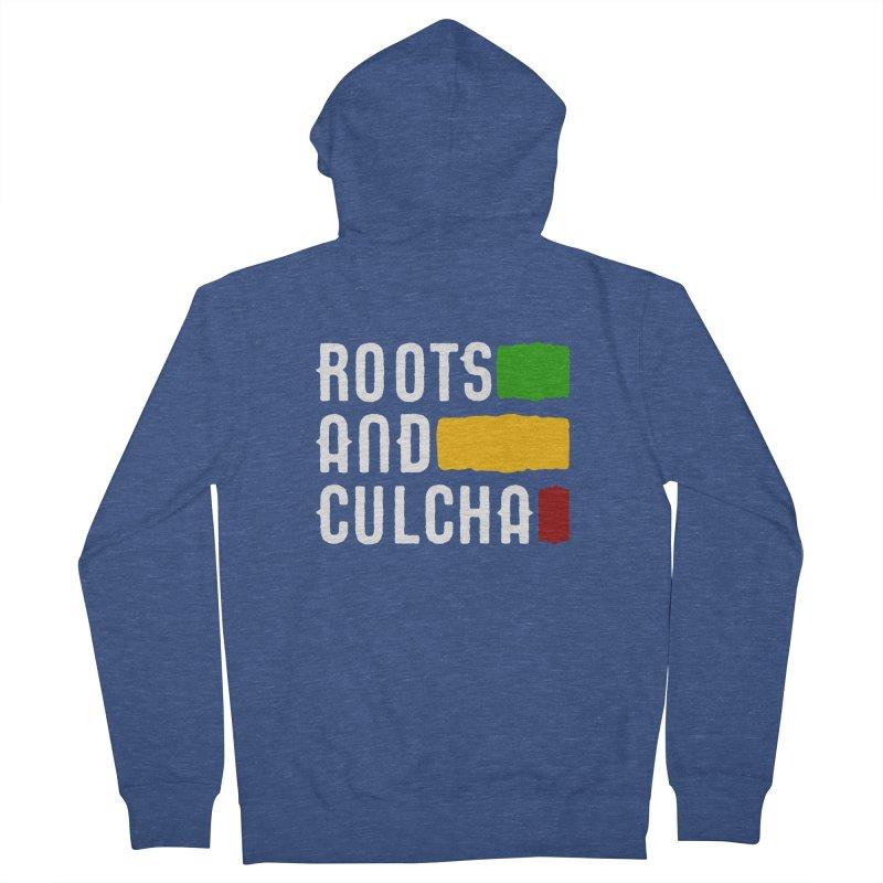 Roots and Culcha (Light) Men's Zip-Up Hoody by Rasta University Shop