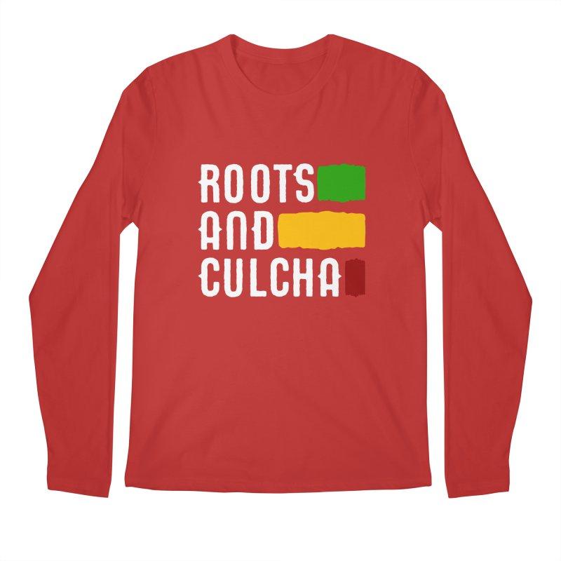 Roots and Culcha (Light) Men's Regular Longsleeve T-Shirt by Rasta University Shop