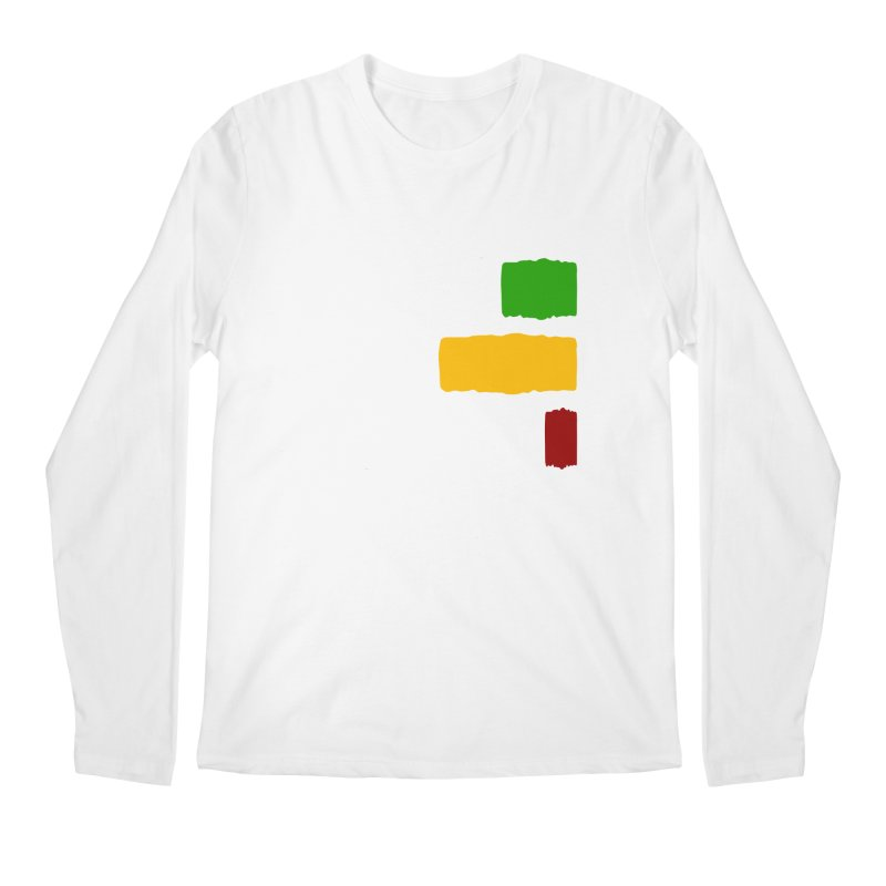 Roots and Culcha (Light) Men's Longsleeve T-Shirt by Rasta University Shop