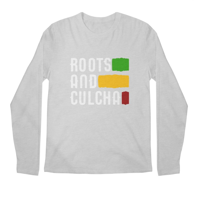 Roots and Culcha (Light) Men's Longsleeve T-Shirt by Rasta University Shop