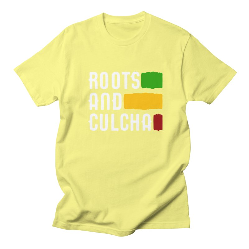 Roots and Culcha (Light) Men's T-Shirt by Rasta University Shop