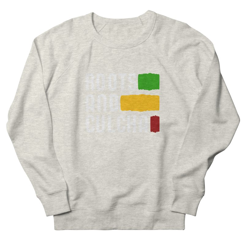Roots and Culcha (Light) Men's French Terry Sweatshirt by Rasta University Shop