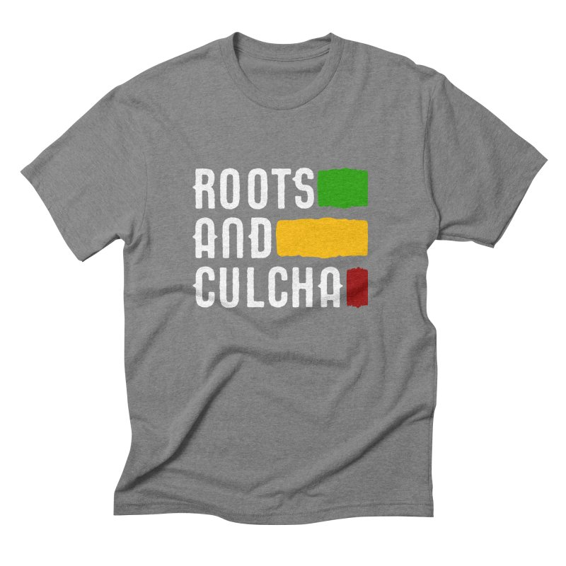 Roots and Culcha (Light) Men's Triblend T-Shirt by Rasta University Shop