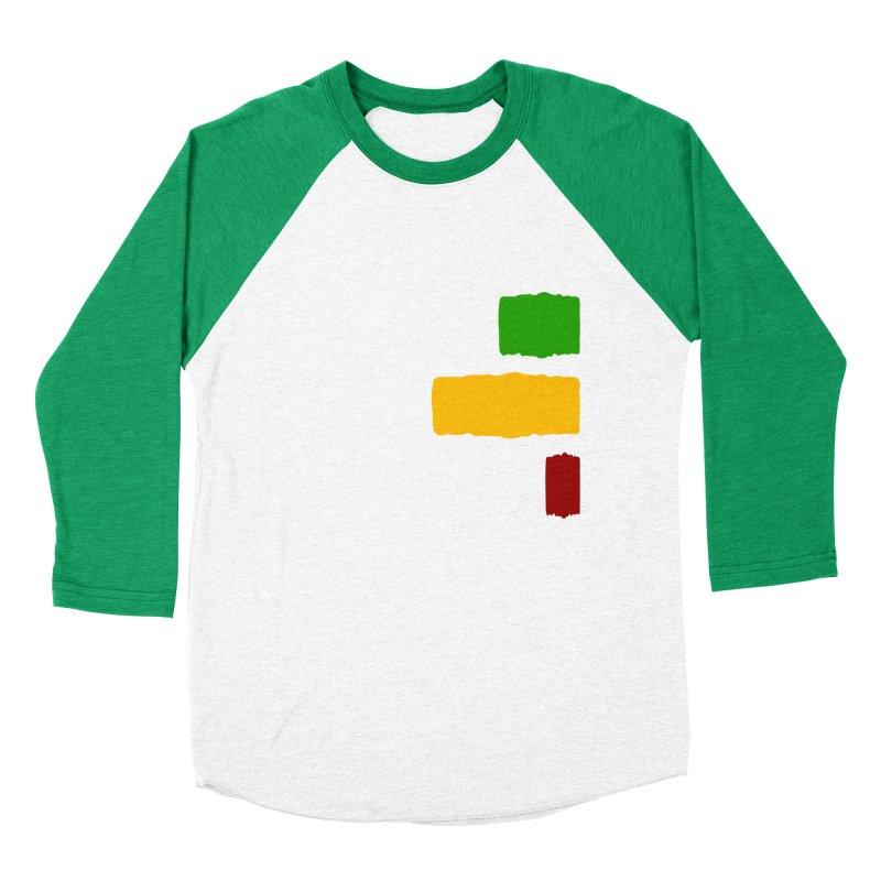 Roots and Culcha (Light) Women's Baseball Triblend Longsleeve T-Shirt by Rasta University Shop