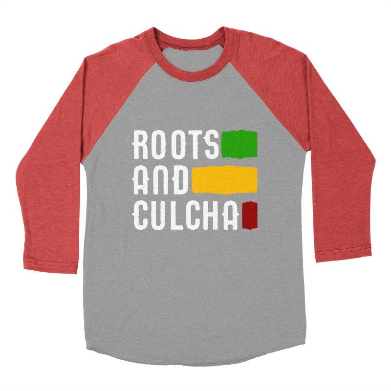 Roots and Culcha (Light) Women's Baseball Triblend T-Shirt by Rasta University Shop