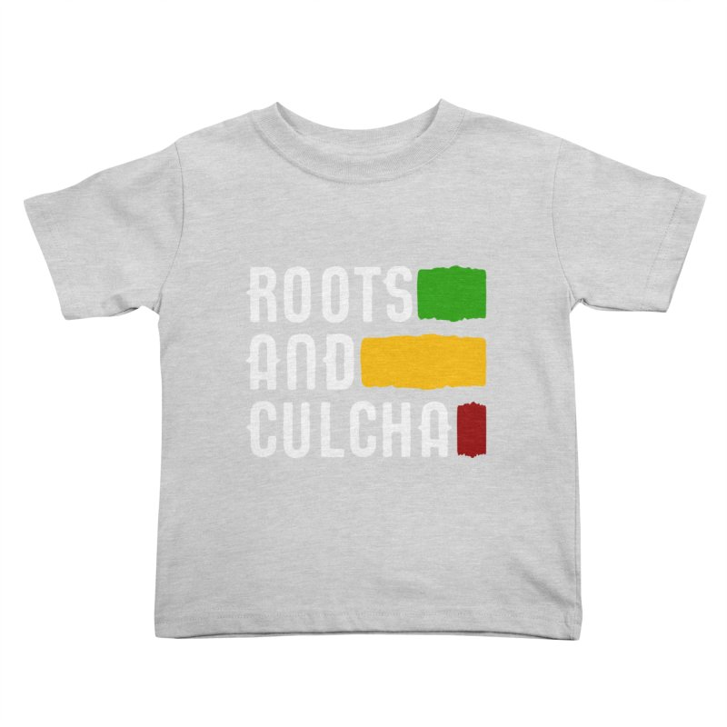 Roots and Culcha (Light) Kids Toddler T-Shirt by Rasta University Shop