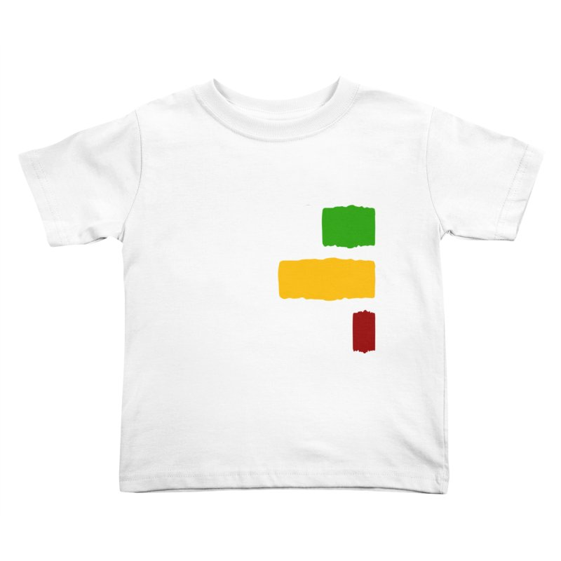 Roots and Culcha (Light) Kids Toddler T-Shirt by Rasta University Shop