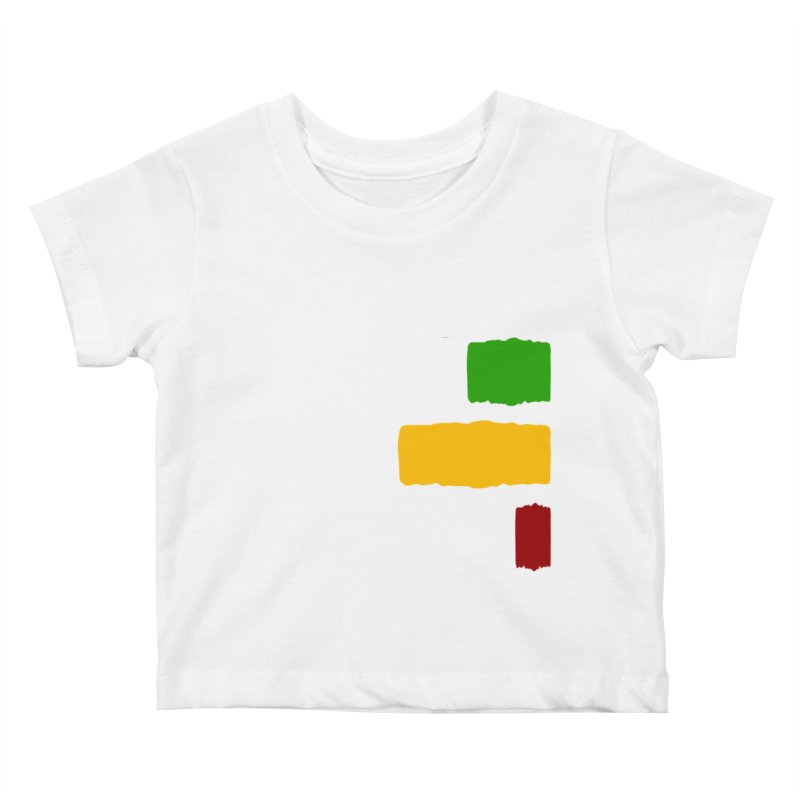 Roots and Culcha (Light) Kids Baby T-Shirt by Rasta University Shop