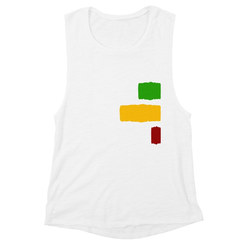 Roots and Culcha (Light) Women's Muscle Tank by Rasta University Shop