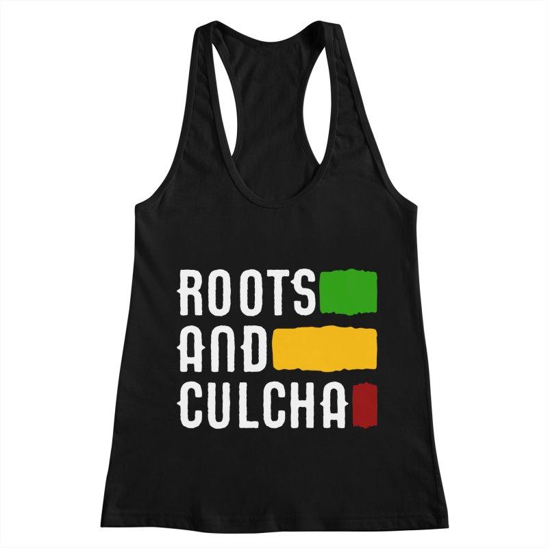 Roots and Culcha (Light) Women's Racerback Tank by Rasta University Shop