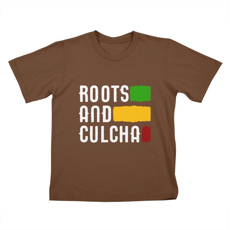 Roots and Culcha (Light) Kids T-shirt by Rasta University Shop