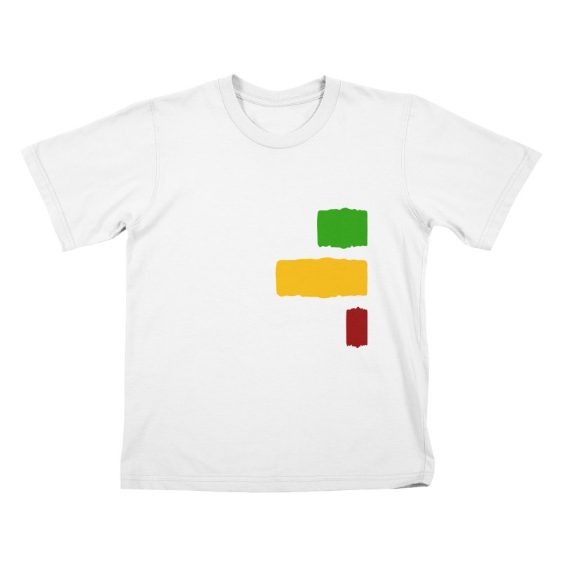 Roots and Culcha (Light) Kids T-Shirt by Rasta University Shop