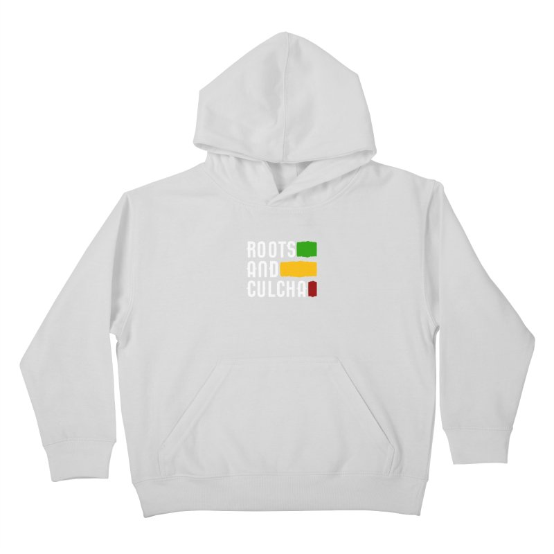 Roots and Culcha (Light) Kids Pullover Hoody by Rasta University Shop