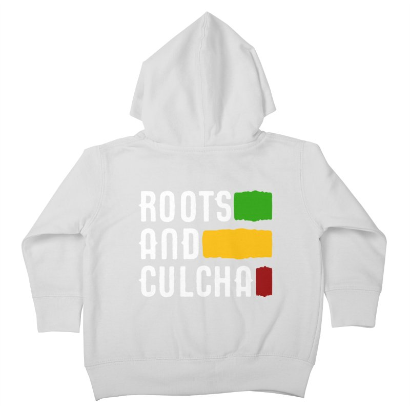 Roots and Culcha (Light) Kids Toddler Zip-Up Hoody by Rasta University Shop