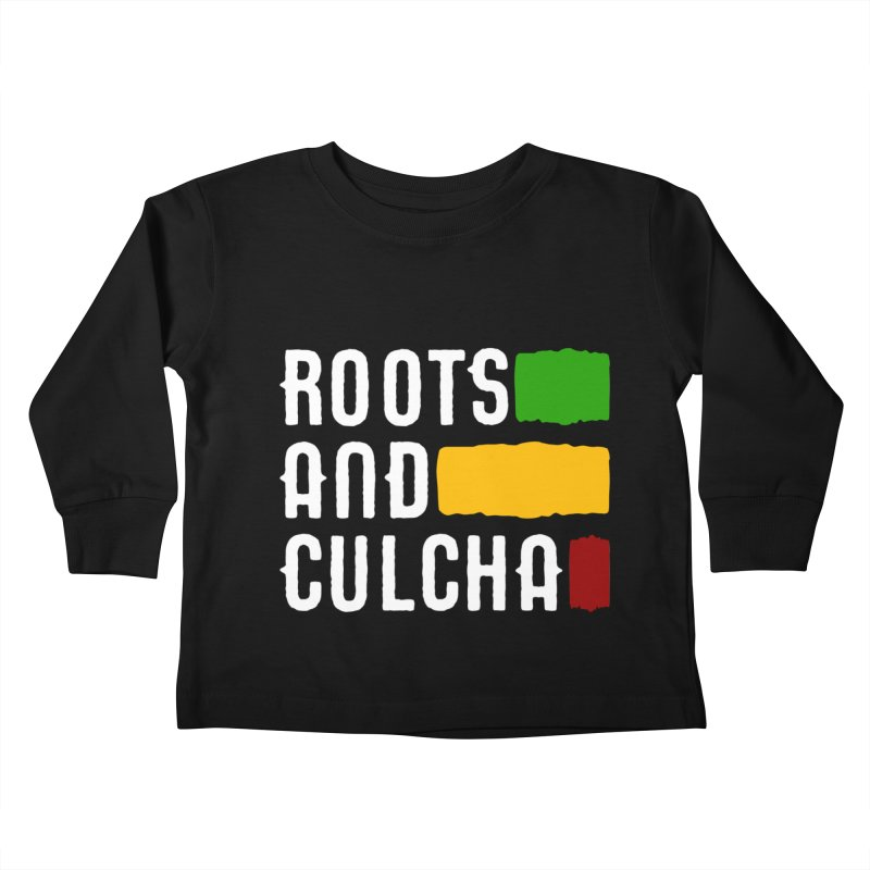 Roots and Culcha (Light) Kids Toddler Longsleeve T-Shirt by Rasta University Shop
