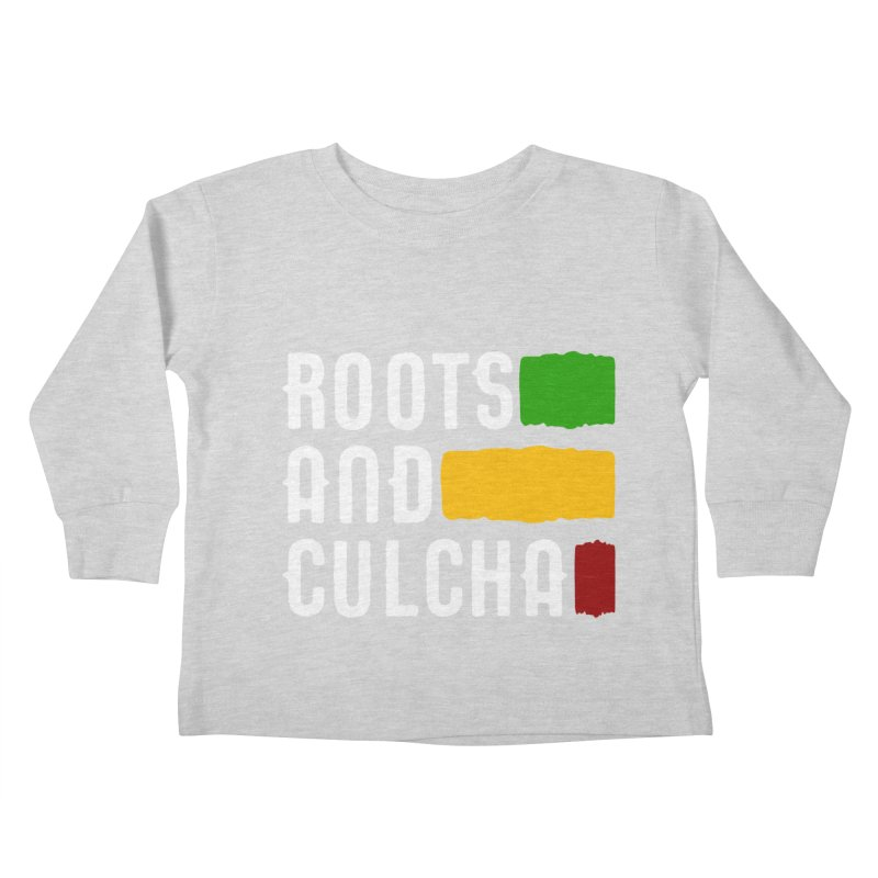 Roots and Culcha (Light) Kids Toddler Longsleeve T-Shirt by Rasta University Shop