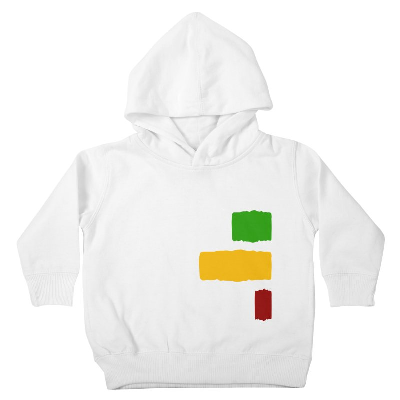 Roots and Culcha (Light) Kids Toddler Pullover Hoody by Rasta University Shop