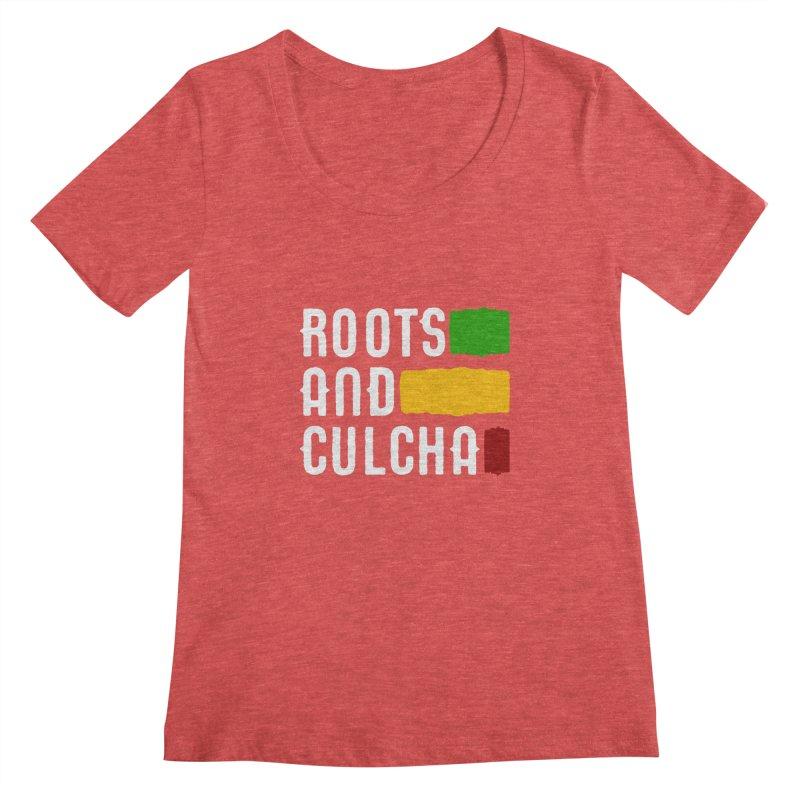 Roots and Culcha (Light) Women's Scoopneck by Rasta University Shop