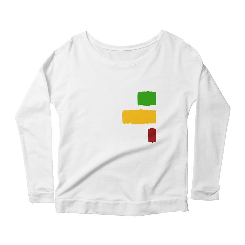 Roots and Culcha (Light) Women's Scoop Neck Longsleeve T-Shirt by Rasta University Shop