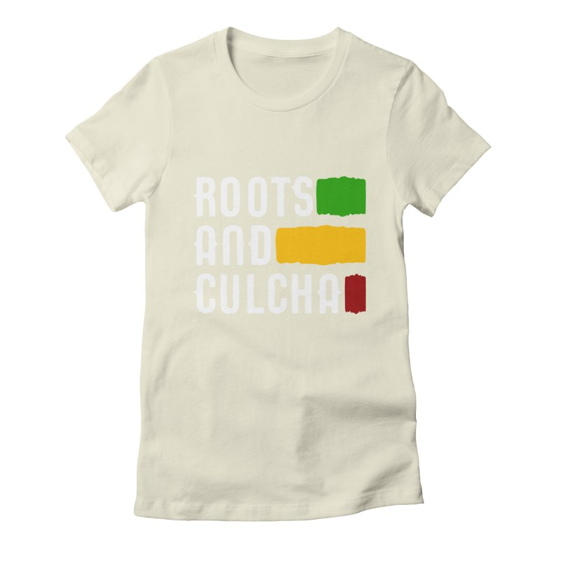 Roots and Culcha (Light) Women's Fitted T-Shirt by Rasta University Shop