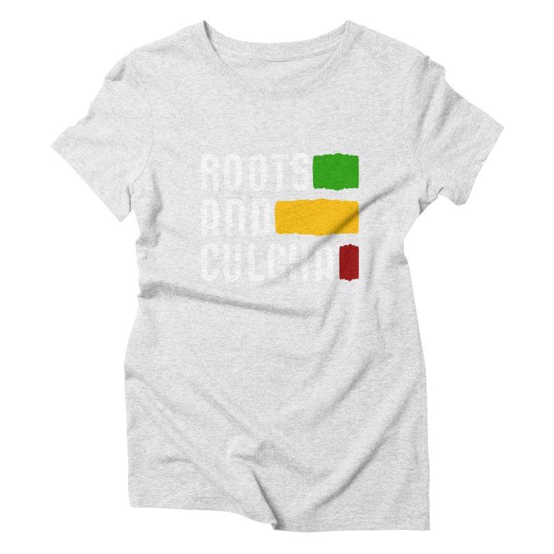 Roots and Culcha (Light) Women's Triblend T-Shirt by Rasta University Shop